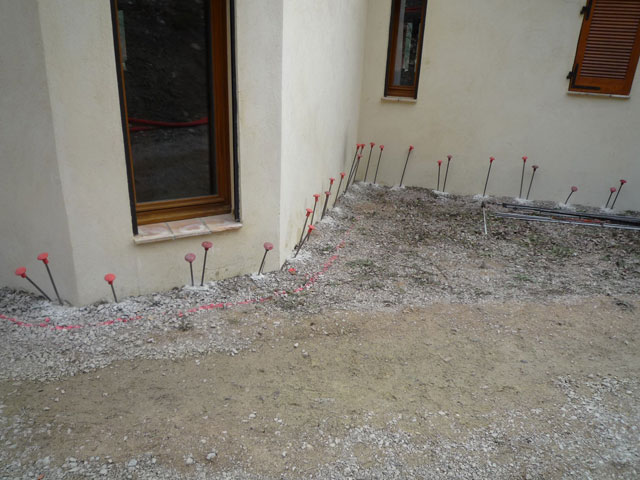 Techniques de confortement de fondations - Injection de resine sous fondations ...