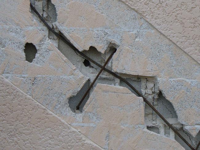 Comment reparer des fissures sur une facade - Reparer fissure mur exterieur ...